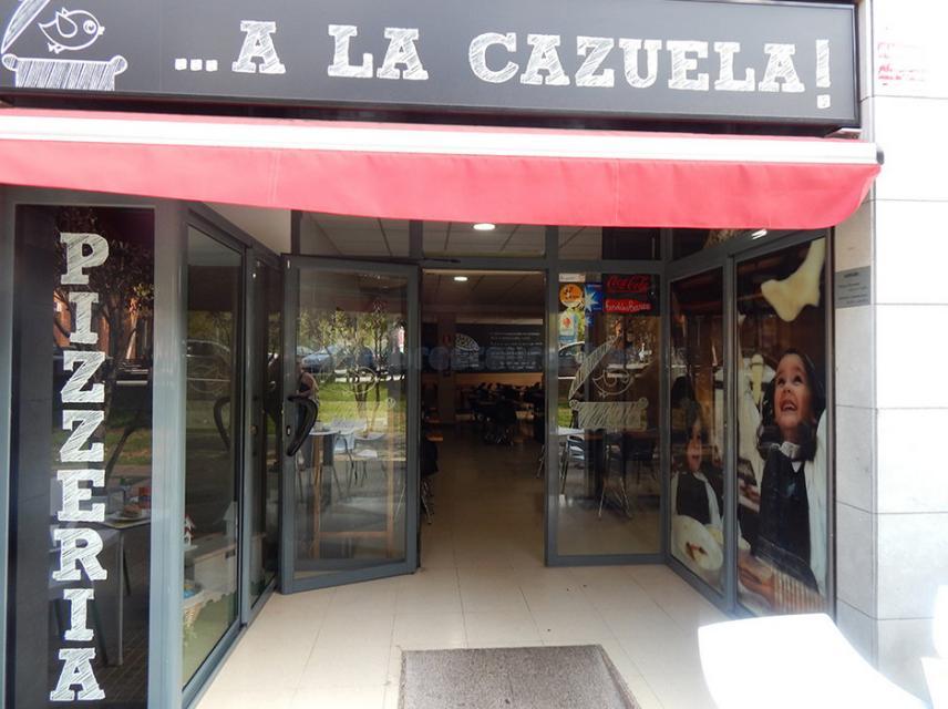 Entrada del Restaurante A la Cazuela de Viladecans