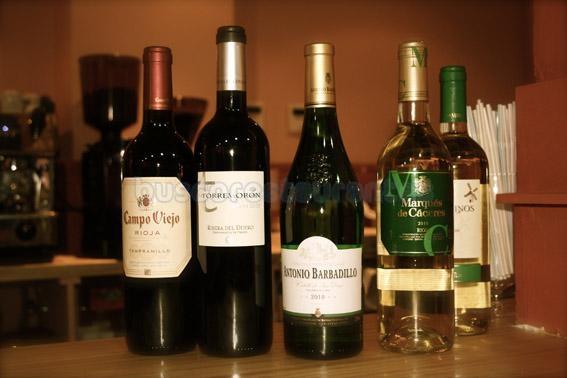 Una selección de Vinos