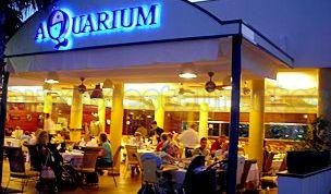 Aquarium restaurante