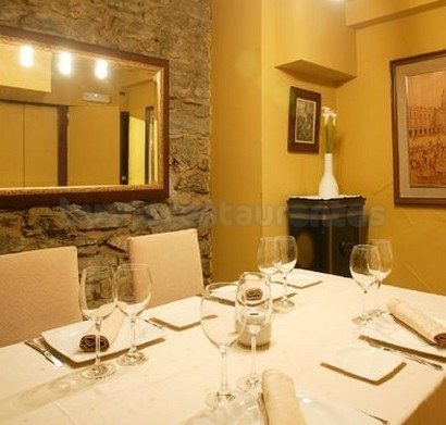 Restaurante Arkupe. Vitoria / Gasteiz.