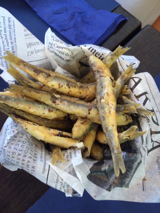 Boqueron frito