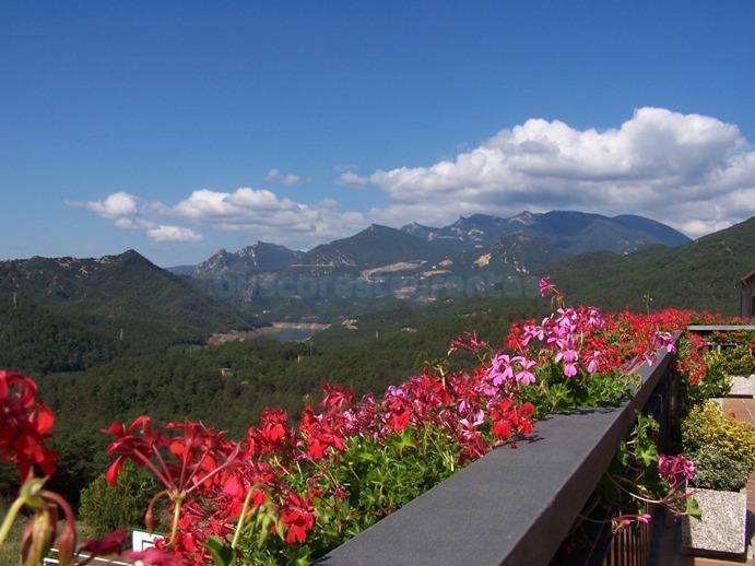 Vista panoramica des de la terraza
