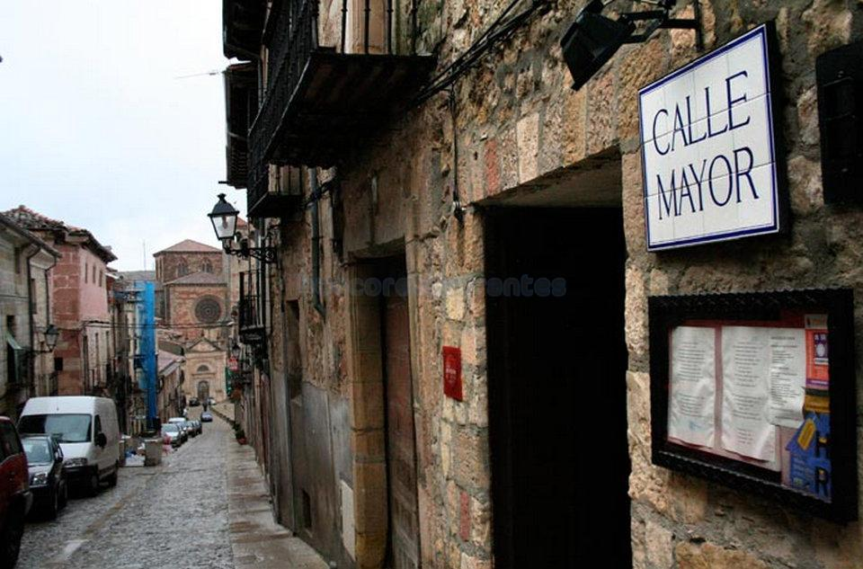 Calle Mayor de Sigüenza