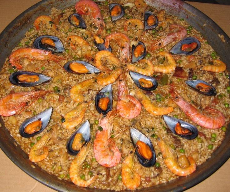 Paella mixta Casa Barceló