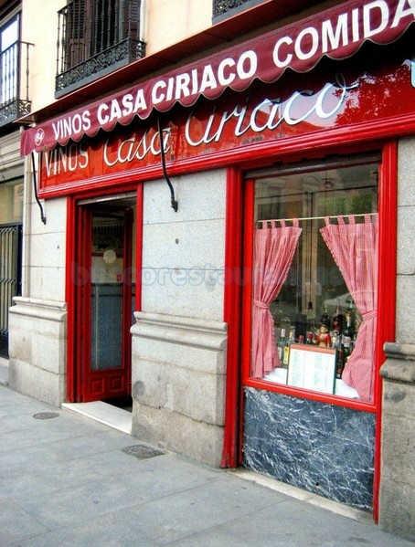 Restaurante casa ciriaco madrid - Casa arabe madrid restaurante ...