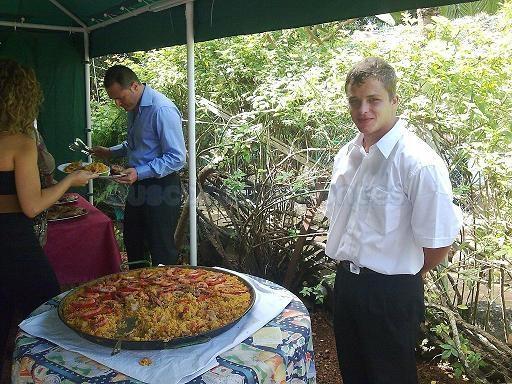 Menús buffet