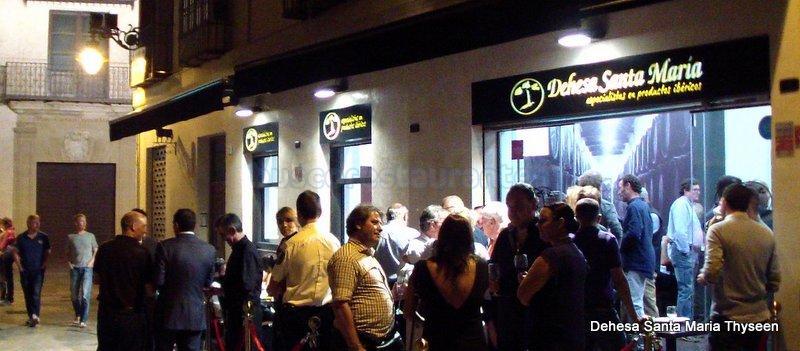 Restaurante dehesa de santa mar a thyseen m laga - Dehesa santa maria ...