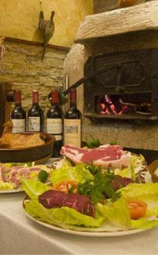 Jamón, vinos + carnes