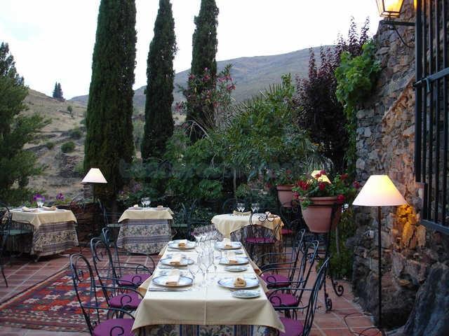 Restaurante el jard n del poleo patones for El jardin de vikera