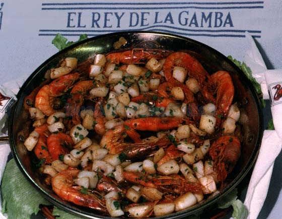 Restaurante El Rey De La Gamba 2 Barcelona