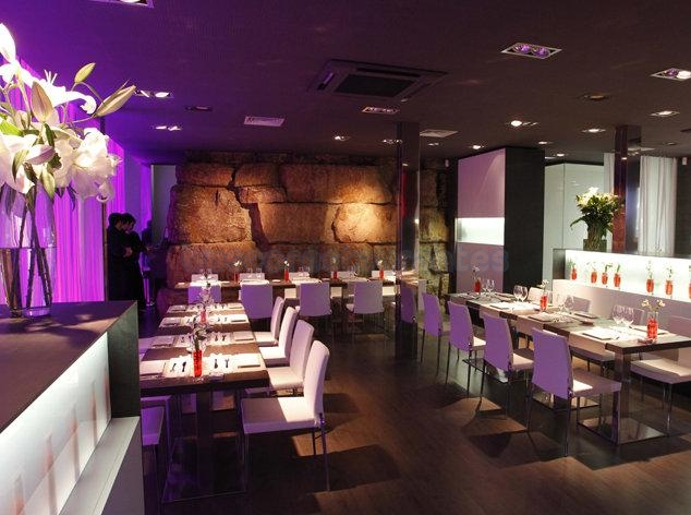 Restaurante in restaurant lounge la carpa sant for Restaurant la cuisine dax