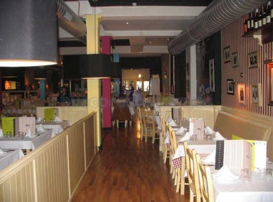 restaurante la mafia se sienta a la mesa barcelona