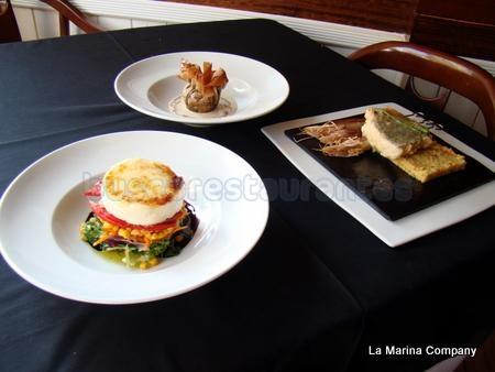 Menú de las jornadas de productos de cantabria