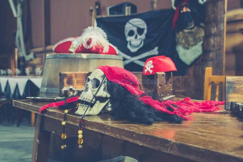 La Taberna del Pirata (Jerez) - atrezzo