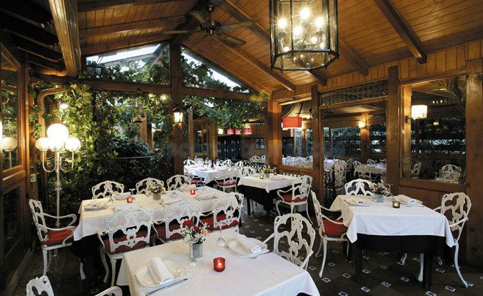 Restaurante La Terraza Jardín Felipe Navacerrada