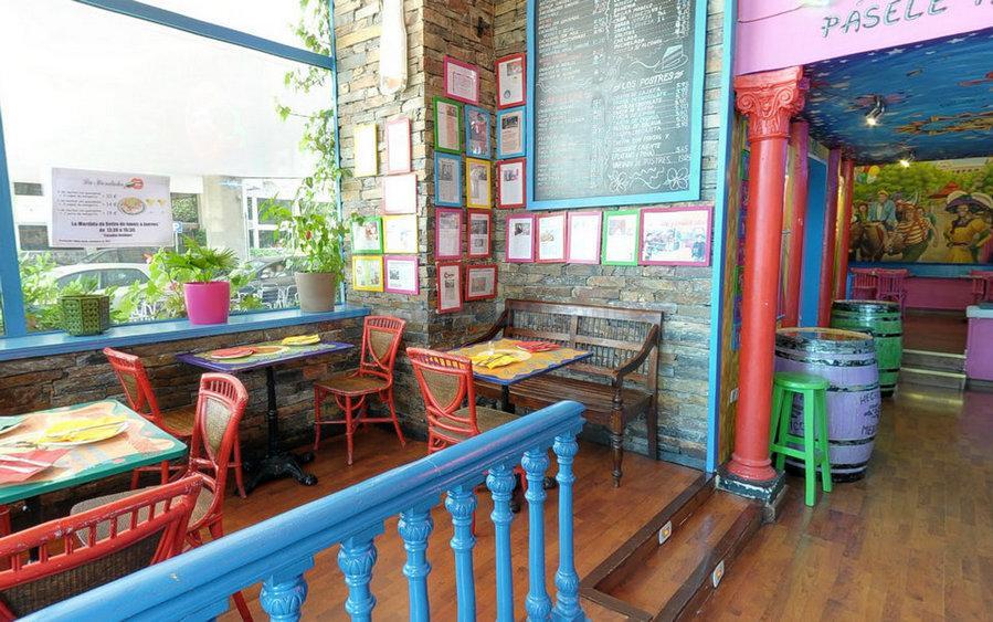 Restaurante La Terraza De La Mordida Retiro Madrid