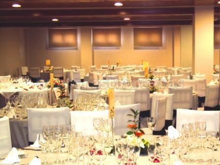 LOS TILOS, salón banquetes.