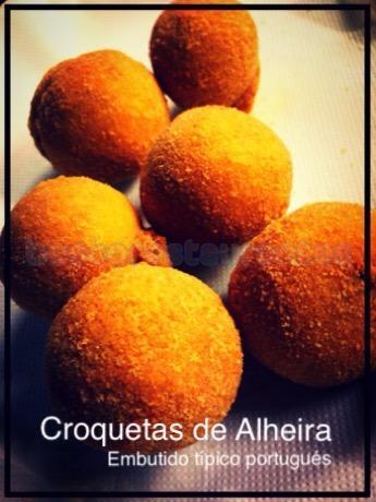 Croquetas de Alheira