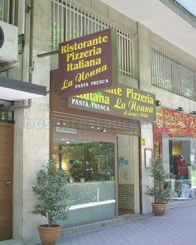 Restaurante pizzeria la nonna di luigi e nella madrid - Pizzeria la nonna ...