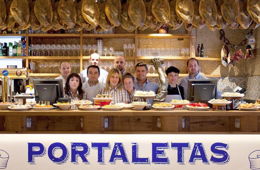 Portaletas