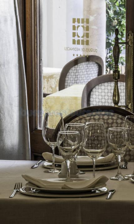 RESTAURANTE REINA ISABEL (HOTEL DUQUES DE MEDINACELI)