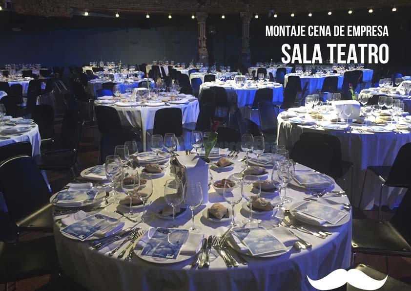 Cena en la Sala Teatro