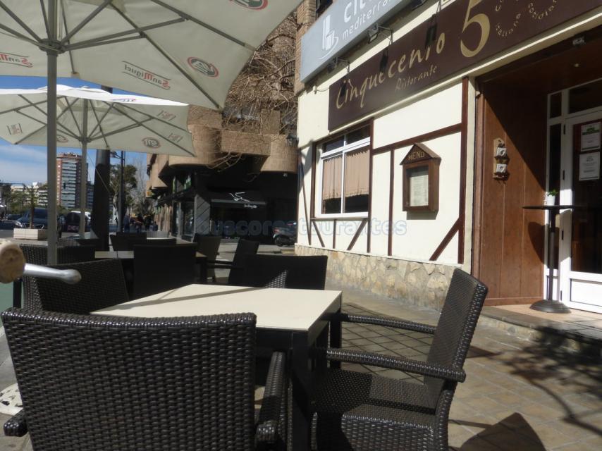 Restaurante Cinquecento Faciada
