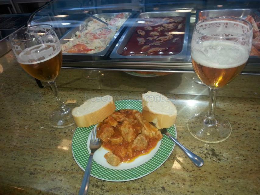 Restaurante El Chiscón magro con tomate