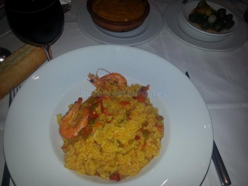 Restaurante El Chiscón arroz caldoso