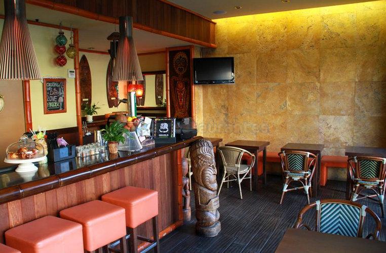 Restaurante restaurante hawaiano tiki kahala barcelona for Tiki hawaiano