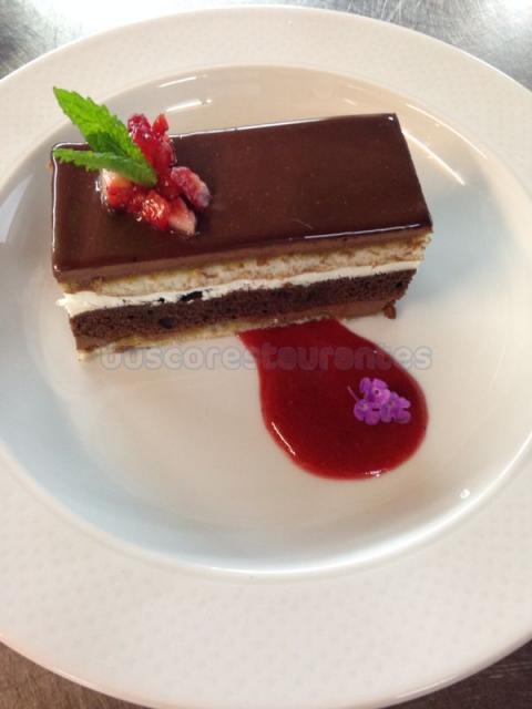 Chocolate tres texturas