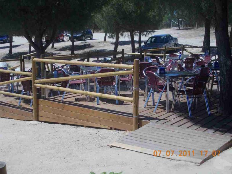 Restaurante lago Pinar