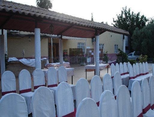 Jardín del Restaurante los Praos del Duque