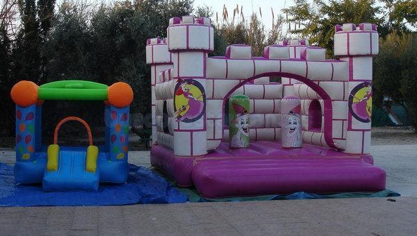 Parque infantil del Restaurante los Praos del Duque