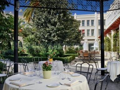 Terraza restaurante Rosmarino