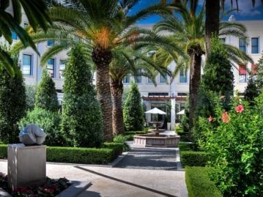 Jardines mediterráneos The Westin Valencia