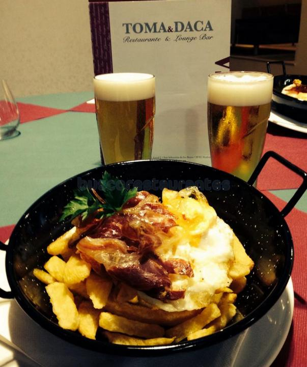 Restaurante toma daca san sebasti n de los reyes for Restaurante italiano san sebastian de los reyes