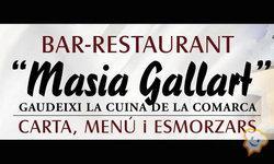 Restaurante Masia Gallart