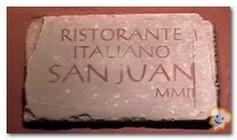 Restaurante Italiano San Juan