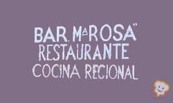 Restaurante Los Lagos Bar María Rosa