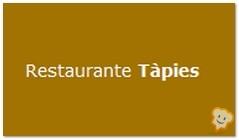 Restaurante Tàpies