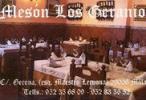 Restaurante Mesón Los Geranios