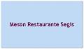 Meson Restaurante Segis
